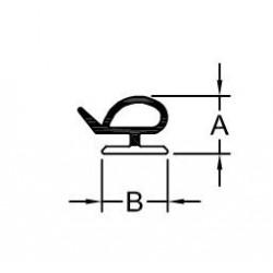 GOMA BL-DT 48 ABISAGRADA (P-28)