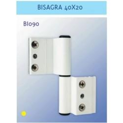 BIS. IZQ. S/40X20  I.D. PLATA