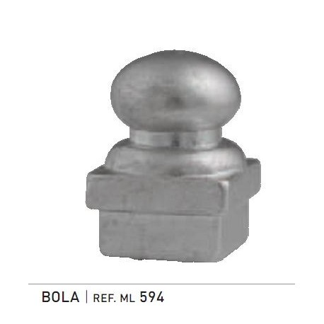 REMATE BOLA 60 X 60 BRONCE (TOVIC)